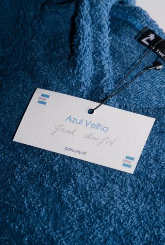 Azul Velho surf poncho